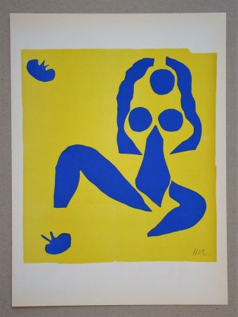 Litografia Matisse (After) - La grenouille - 1953
