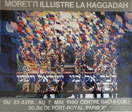 Manifesti Moretti - La Haggadah