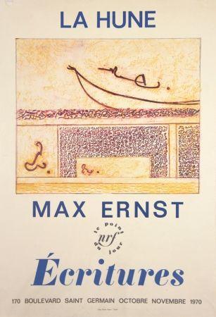 Litografia Ernst - La Hune  Ecritures