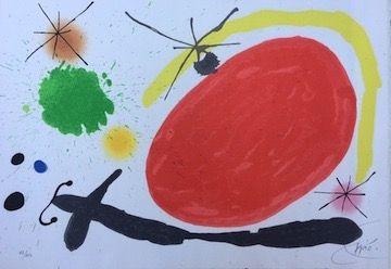 Litografia Miró - La Japonaise