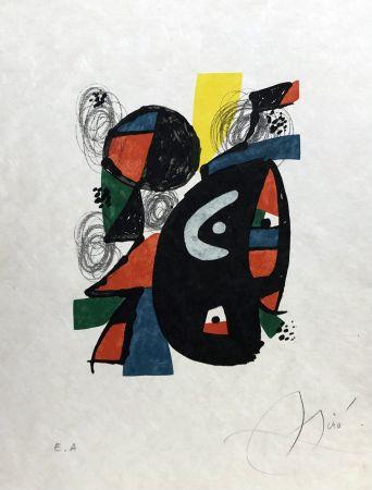 Litografia Miró - La mélodie acide - 12