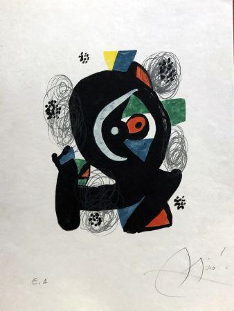 Litografia Miró - La mélodie acide - 2