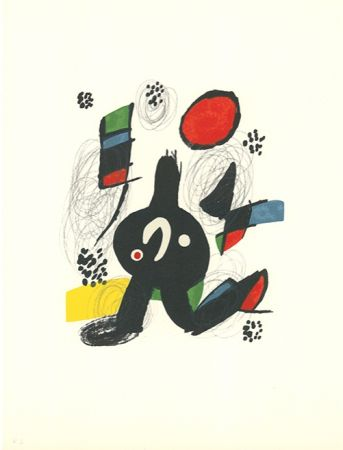 Litografia Miró - La mélodie acide - 7