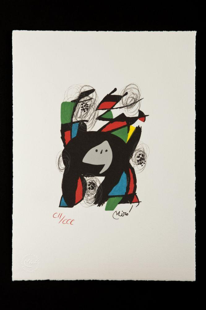 Litografia Miró - La mélodie acide VIII