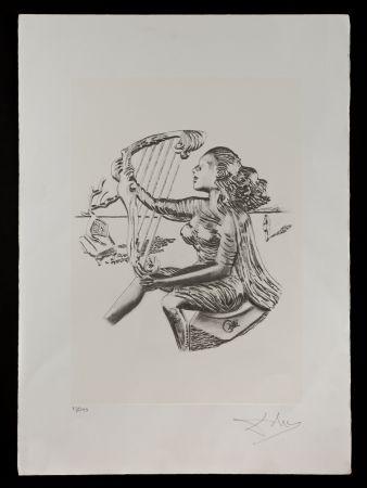 Litografia Dali - La música