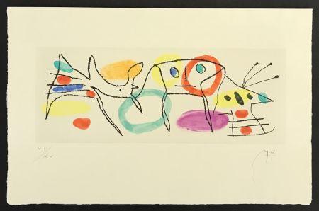 Incisione Miró - La Magie Quotidienne