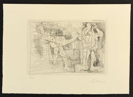 Incisione Picasso - La Magie Quotidienne