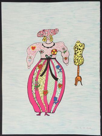 Litografia De Saint Phalle - La Modiste