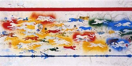 Serigrafia Boetti - La Natura, una faccenda ottusa (Pantere)