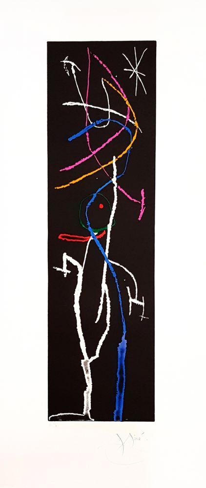 Incisione Miró - La Nuit Étroite