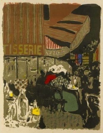 Litografia Vuillard  - La pâtisserie