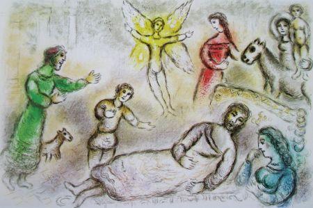 Litografia Chagall - La Paix Retrouvee - L'odyssee Ii