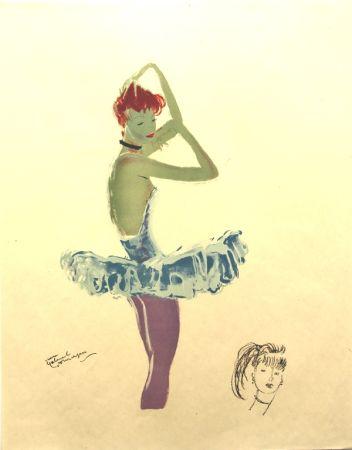 Litografia Domergue - La Parisienne  Ballerine