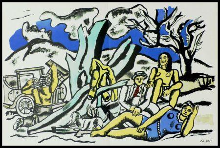 Litografia Léger (After) - LA PARTIE DE CAMPAGNE