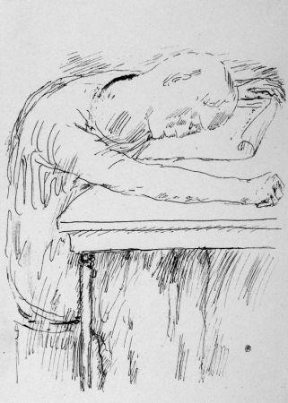Litografia Bonnard - La pausa
