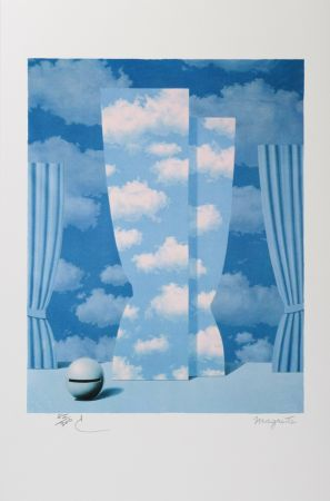 Litografia Magritte - La Peine Perdue (The Wasted Effort)