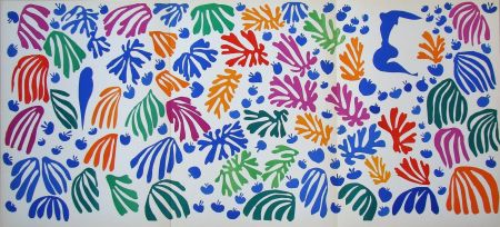 Litografia Matisse (After) - La perruche et la sirène - 1952