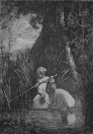Acquaforte Fontanesi - La pesca