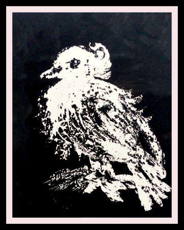 Litografia Picasso - LA PETITE COLOMBE