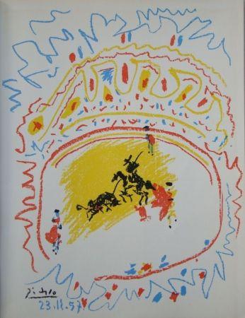 Litografia Picasso - La Petite Corrida
