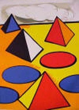 Litografia Calder - La Piege