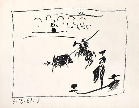 Litografia Picasso - La Pique