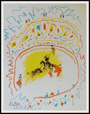 Litografia Picasso - La Pique (Corrida)
