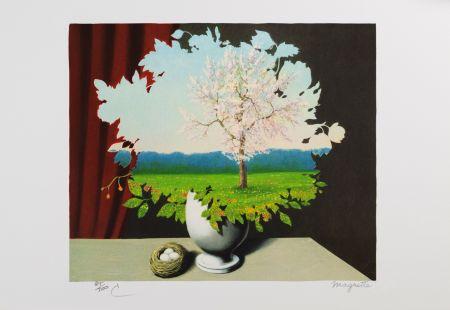 Litografia Magritte - La Plagiat