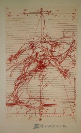 Libro Illustrato Velickovic - La prison chiffree du temps - 18 gravures signées