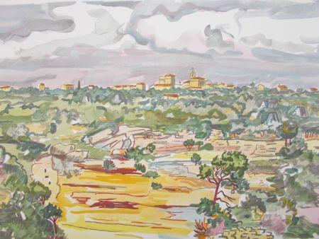 Litografia Brayer - La Provence,le village