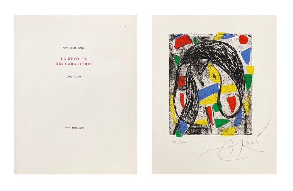 Libro Illustrato Miró - La révolte des caractères