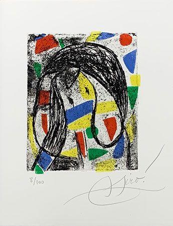 Incisione Miró - La révolte des caractères