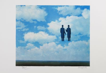 Litografia Magritte - La Reconnaissance Infinie (The Infinite Recognition)
