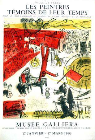 Litografia Chagall - La Revolution  Les Peintres Temoins de Leur Temps