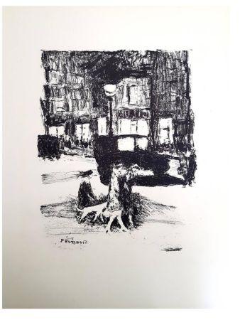 Litografia Bonnard - La Rue
