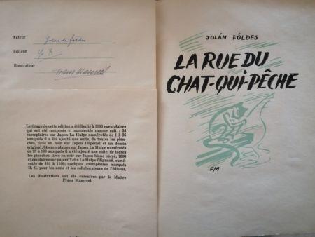 Libro Illustrato Masereel - La Rue du Chat-qui-pêche