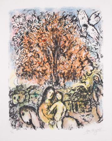 Litografia Chagall - La Sainte Famille