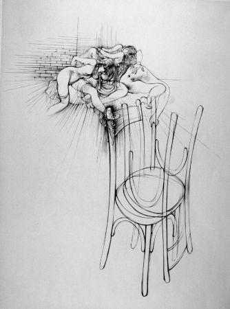 Acquaforte Bellmer - La sedia
