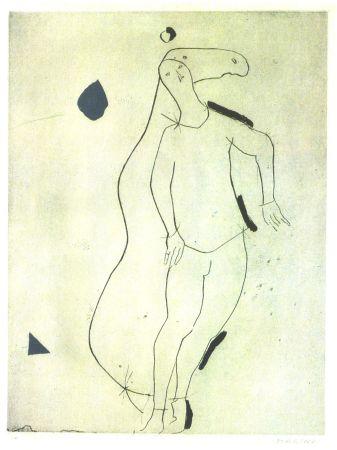 Acquaforte E Acquatinta Marini - La Sorpresa I, from Personaggi, Plate III