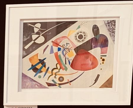 Litografia Kandinsky - La tâche rouge