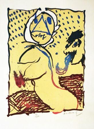 Litografia Alechinsky - LA TAILLE DOUCE