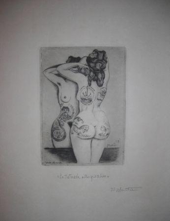 Punta Secca Martini - La tatuata allo specchio