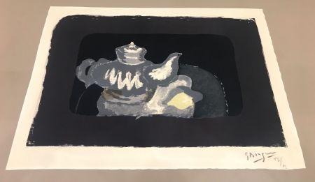 Litografia Braque - La Théière Grise