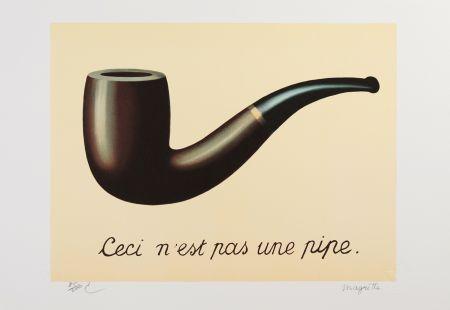 Litografia Magritte - La Trahison des Images