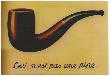 Litografia Magritte - La trahison des images (Ceci n'est pas une pipe)
