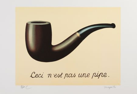 Litografia Magritte - La Trahison Des Images (The Treachery Of Images)