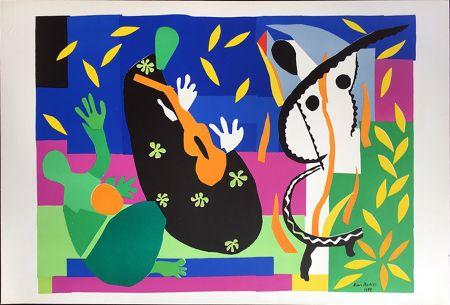 Litografia Matisse - LA TRISTESSE DU ROI. Lithographie sur Arches 1958 (tirage original. Tériade éditeur)