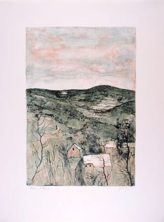 Litografia Gantner - La Vallée - The Valley