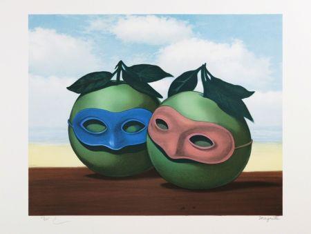 Litografia Magritte - La Valse Hésitation