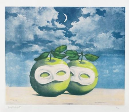 Acquaforte E Acquatinta Magritte - La Valse Hesitation
